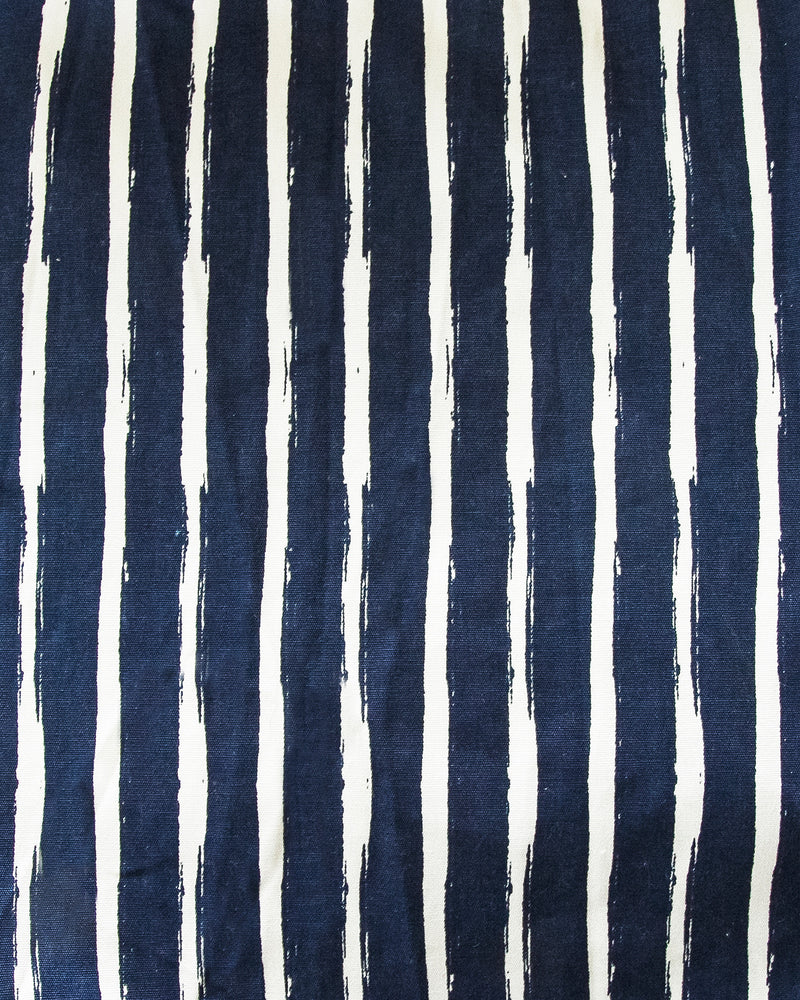 Bean Bag Cover - Navy Stripe - Large