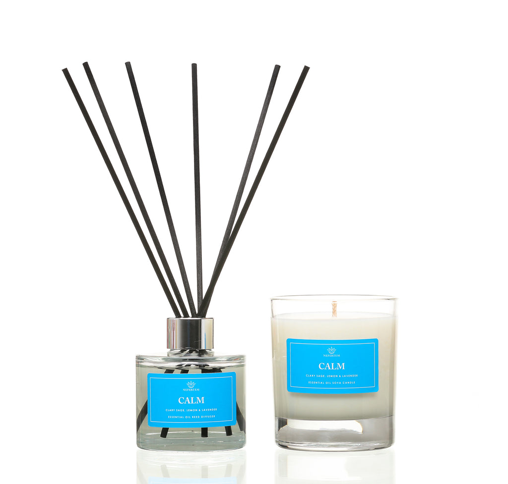 Aromatherapy Mood Soya Candles & Reed Diffusers