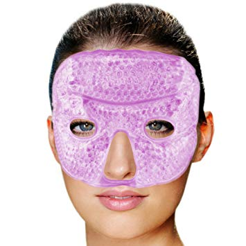 Gel Bead Therapy Mask (Hot or Cold Use)