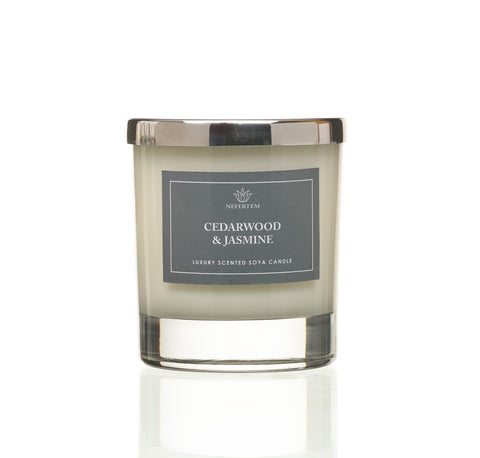 Cedarwood & Jasmine candle