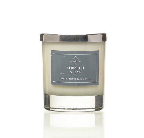 tobacco and oak candle
