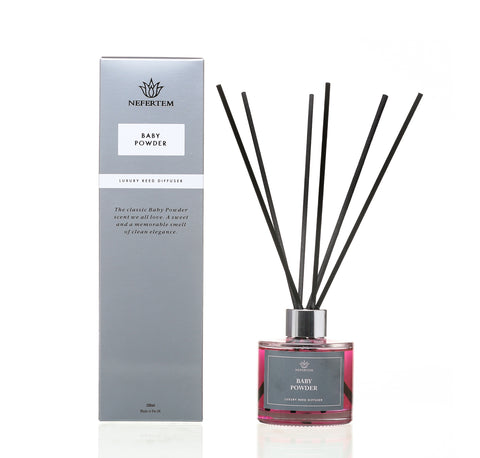 Baby Powder Reed Diffuser in Pink