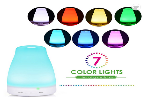 Aroma Diffuser & Free Calm Rollerball & Blend Oil