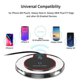 White Wireless Phone Charger
