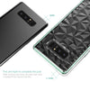 Samsung Galaxy Note 8 Case BENTOBEN Slim Clear Bling 3D Diamond Hybrid Protective Case Mint Green - BENTOBEN