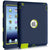 BENTOBEN Heavy Duty Rugged Shock-Absorption/High Impact Resistant Hybrid Three Layer Armor Full Body Protective Case Cover for iPad 2/3/4 Navy color