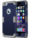 BENTOBEN 3 in 1 Hybrid Case for iPhone 6/6S Plus 5.5 Inch - BENTOBEN