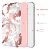BENTOBEN Case for Apple iPhone XS 2018 / iPhone X / 10 Marble Design Dual Layer Heavy Duty Protective Shockproof Rugged Bumper Cute Girl Women Phone Case Cover for iPhone XS/X 5.8 Inch, Rose Gold/Pink - BENTOBEN