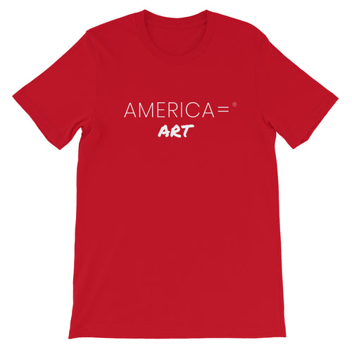 America = ®  Art T-shirt | Unisex Business & Entrepreneurship T-shirts