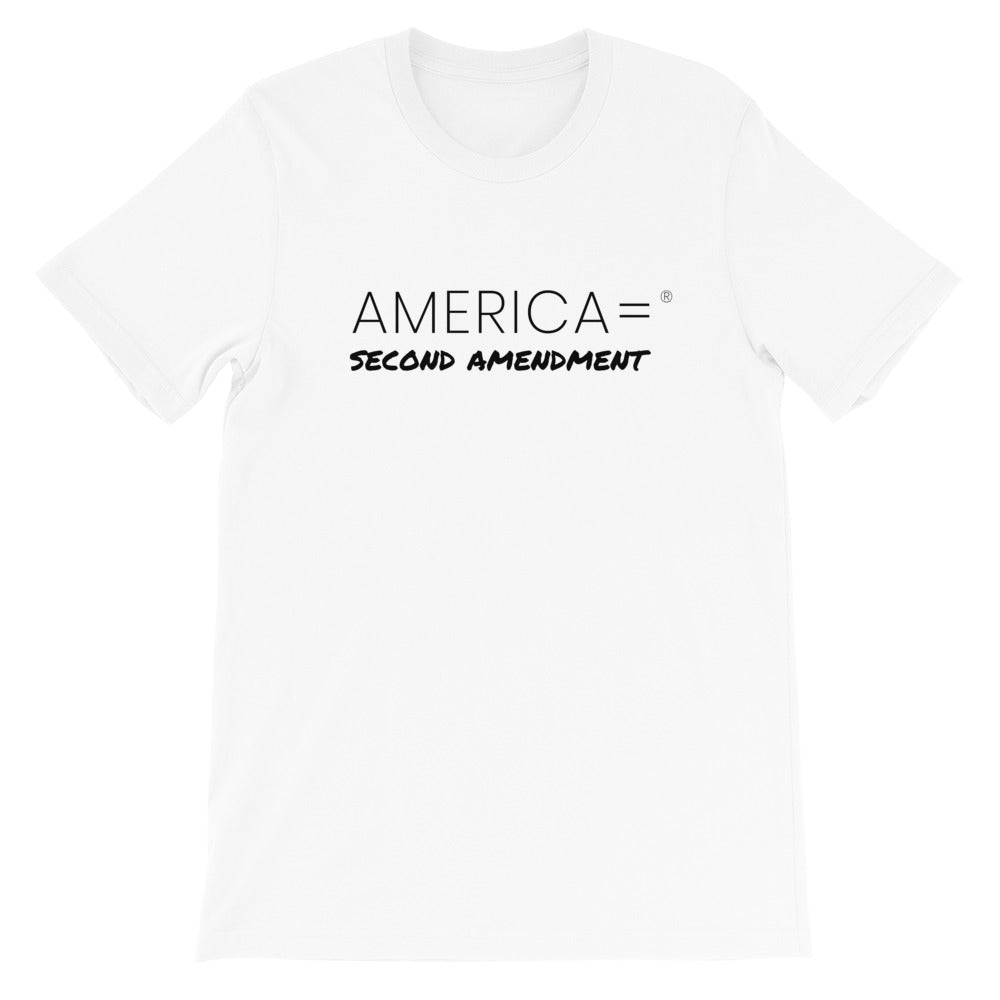 America = ®  Second Amendment T-shirt | Unisex Social Justice T-shirts
