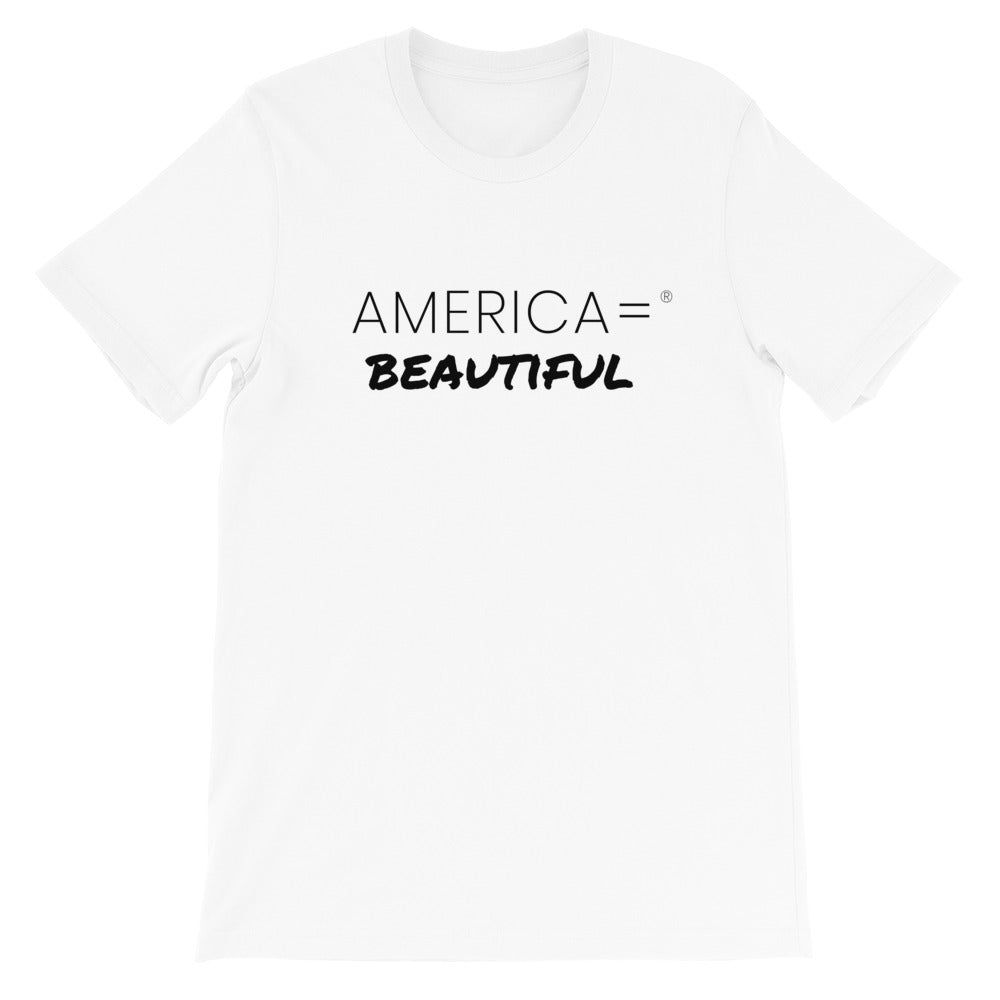 America = ® Beautiful T-shirt | Unisex Patriotic T-shirts