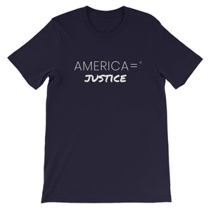 America = ® Justice T-shirt | Unisex Social Justice T-shirts