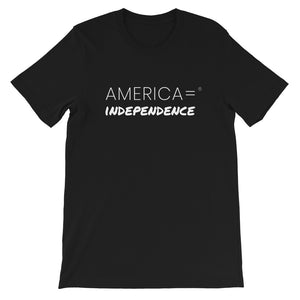 America = ®  Independence T-shirt | Unisex Patriotic T-shirts