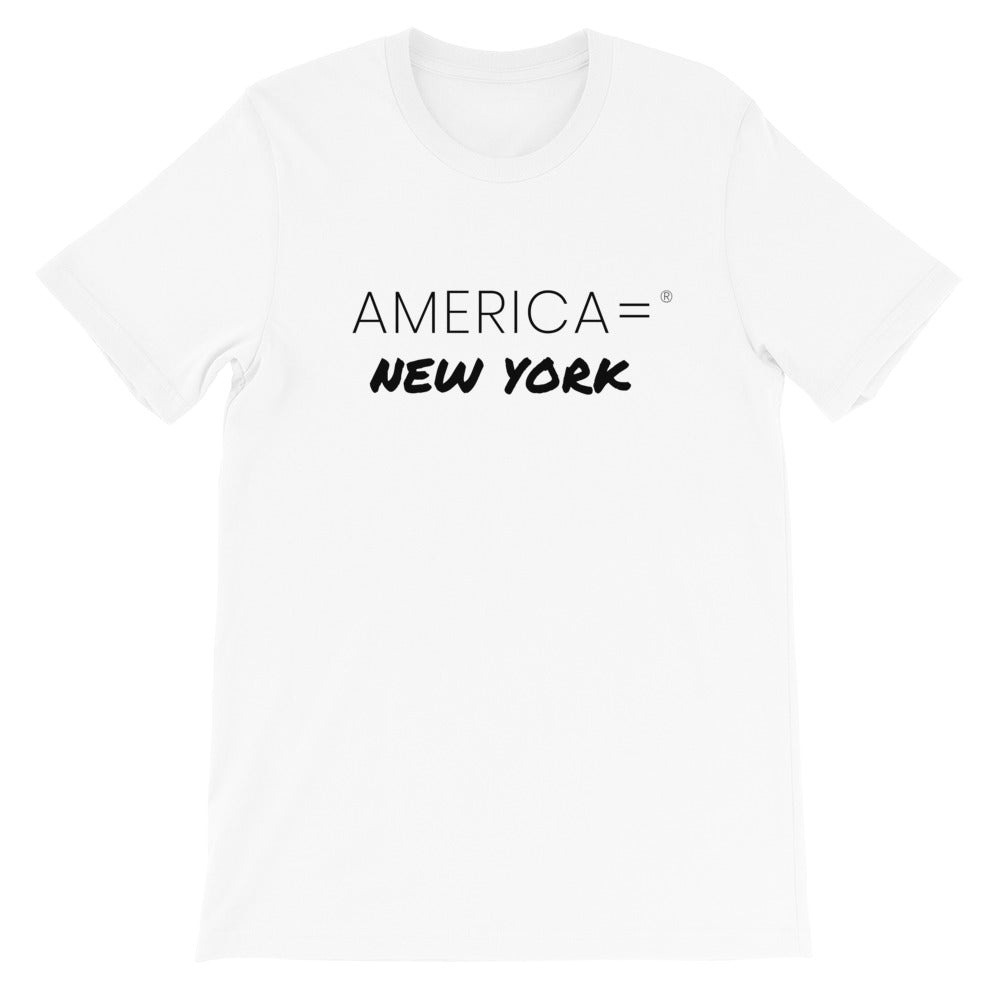 America = ®  New York T-shirt | Unisex Places T-shirts