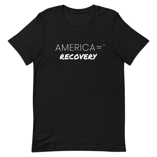 America = ® Recovery T-shirt | Unisex Causes T-shirts