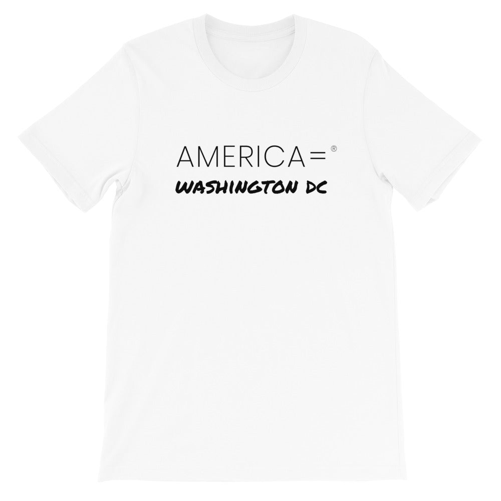 America = ® Washington DC T-shirt | Unisex Places T-shirts
