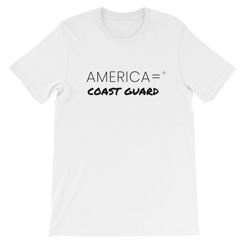America = ®  Coast Guard T-shirt | Unisex Military T-shirts