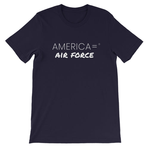 America = ®  Air Force T-shirt | Unisex Military T-shirts