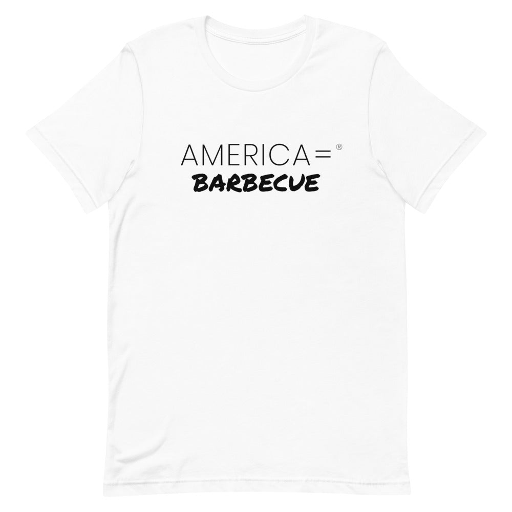 America = ®  Barbecue T-shirt | Unisex Humor & Fun T-shirts