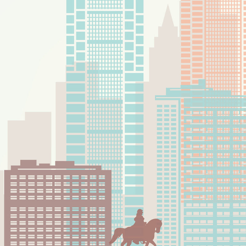 Philadelphia Skyline: Cityscape Art Print, Home Décor
