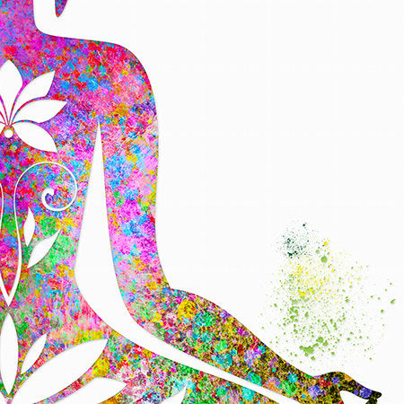 Buddha: Watercolour Print For Nursery, Home Decor - Spiritual Series