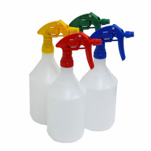 Colour Coded Spray Bottles 1L