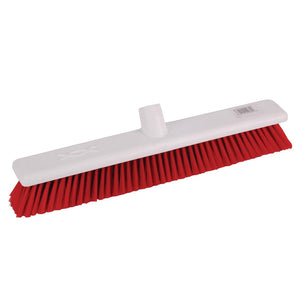 Jantex Soft Washable Broomhead Red 457mm