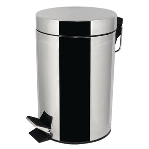 Stainless Steel Step Bin 3Ltr