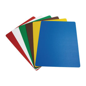 Hygiplas Colour Coded Chopping Mats Set Large