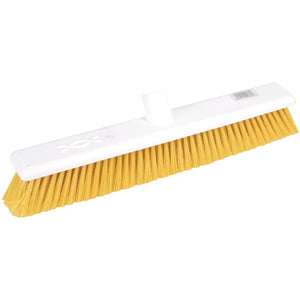 Jantex Soft Washable Broomhead Yellow 457mm