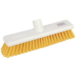 Jantex Soft Washable Broomhead Yellow 300mm