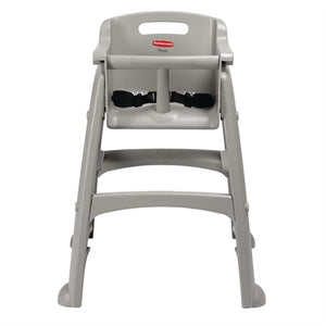 Rubbermaid Sturdy Stacking High Chair Platinum