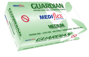 Mediflex Vinyl Gloves (Clear) Powder Free