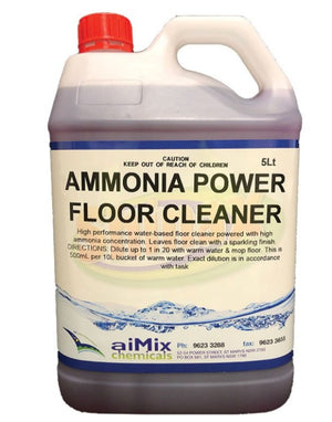 Ammonia Power Floor Cleaner