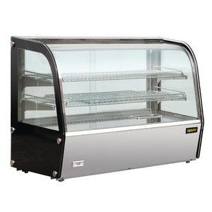 Apuro Heated Countertop Display Cabinet 120Ltr