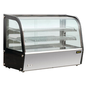 Apuro Heated Countertop Display Cabinet 160Ltr