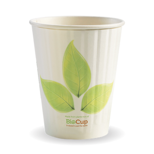 390ML / 12OZ (90MM) LEAF DOUBLE WALL BIOCUP