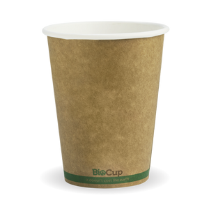 Biopak Single Wall Green Stripe 12oz