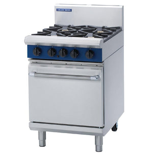 Blue Seal by Moffat 4 Burner Natural Gas Oven Range G504D