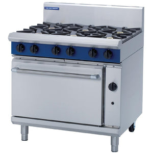 Blue Seal by Moffat 6 Burner Natural Gas Oven Range G506D