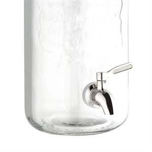 Clip-Top Drinks Dispenser With Indenting