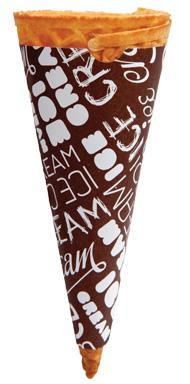 Cone Sleeve Brown
