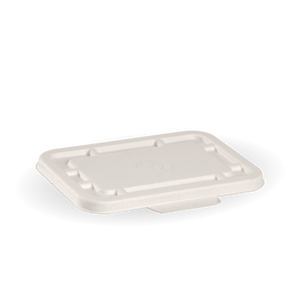 Lid Biopak Takeaway Base White 500-600mL