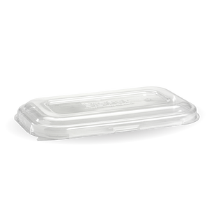Lid Biopak Takeaway Base Clear 750-1000mL