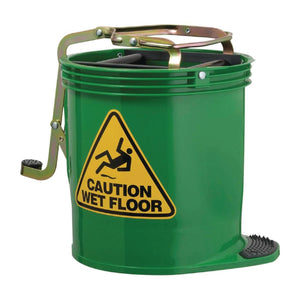 Contractor Roller Wringer Bucket Green 16 Litre