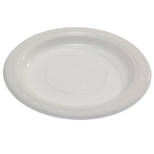 Plastic Plate Round  7 inch