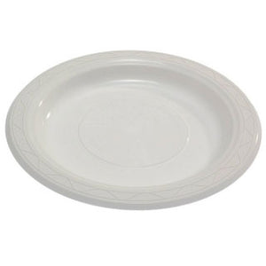 Plastic Plate Round 10 inch