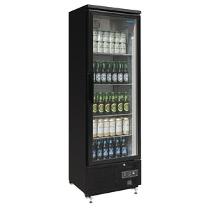 Polar Upright Back Bar Cooler Single Door