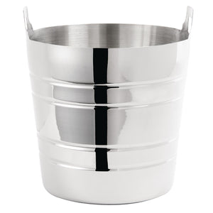 Polished Stainless Steel Wine & Champagne Bucket