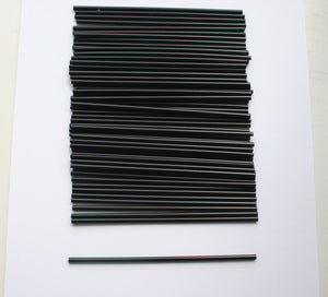 Regular Straw Black